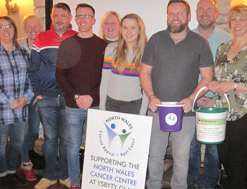 Caerwys FC Raise Nearly £900 Over Christmas & New Year For NWCA